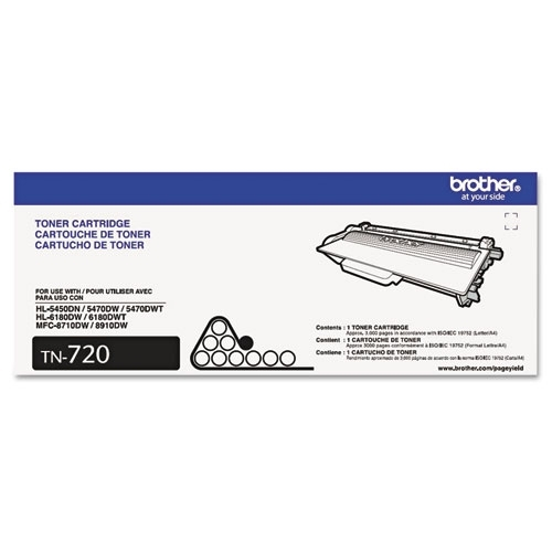 Brother OEM TN-720 Toner Cartridge