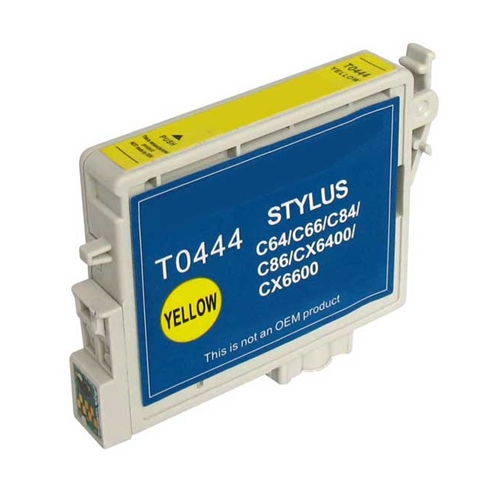 Epson T0444 Y compatible Ink Cartridge