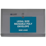C-Line Products, Inc C-Line Reusable Legal Poly Envelope with String Closure