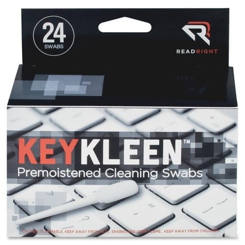 Advantus Corp Read Right KeyKleen Cleaning Swabs