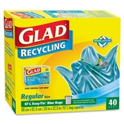 The Clorox Company Glad Easy-Tie Regular Recycling Bag