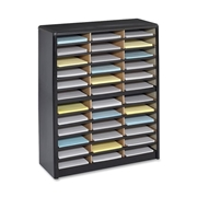 Safco Products Safco 36 Compartments Value Sorter Literature Sorter