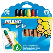 Prang be-be Jumbo Colored Pencils