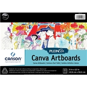 Dixon Ticonderoga Company Canson Plein Air Canva Art Board Pad