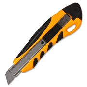 Sparco Products Sparco PVC Anti-Slip Rubber Grip Utility Knife