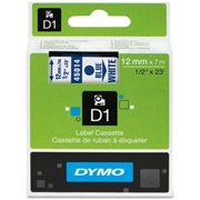 Newell Rubbermaid, Inc Dymo Blue on White D1 Label Tape
