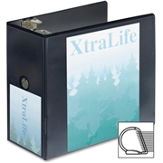 Cardinal XtraLife ClearVue Non-Stick Locking Slant-D Ring Binder