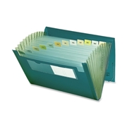 Smead Manufacturing Company Smead 70878 Green Poly Ultracolor Expanding Files