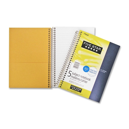 ACCO Brands Corporation Hilroy Five Subject Notebook