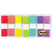 "3M Post-it® 1/2""W Flags in On-the-Go Dispenser"