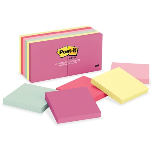 3M Post-it Marseille Notes