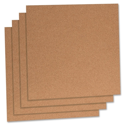 Lorell Natural Cork Panels
