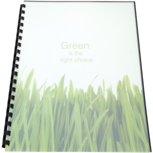 ACCO Brands Corporation GBC 100% Recycled Poly Cover